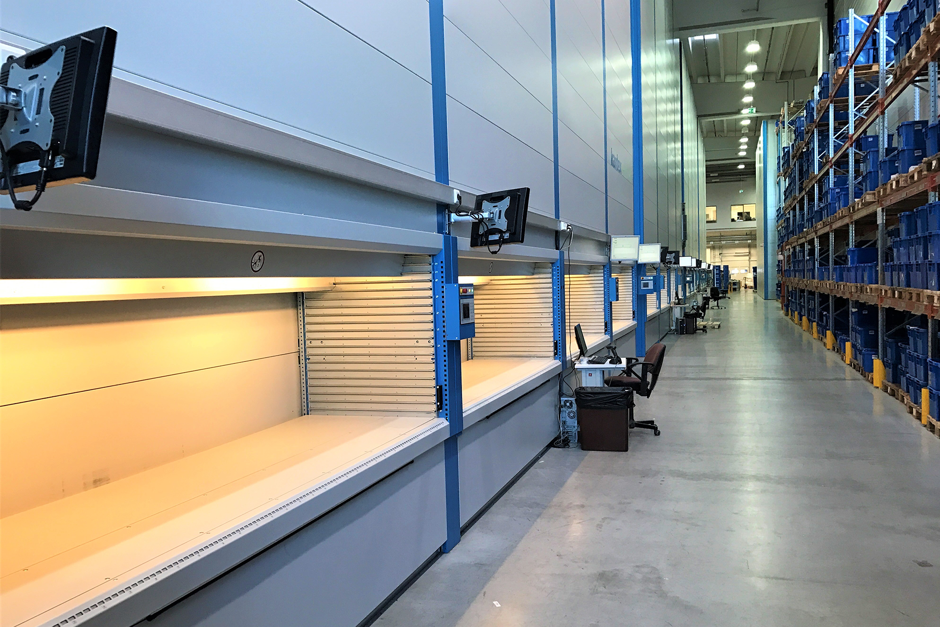Economical, Efficient and Ecological: The Horizontal Tray Warehouse in Combination with SuPCIS-L8!