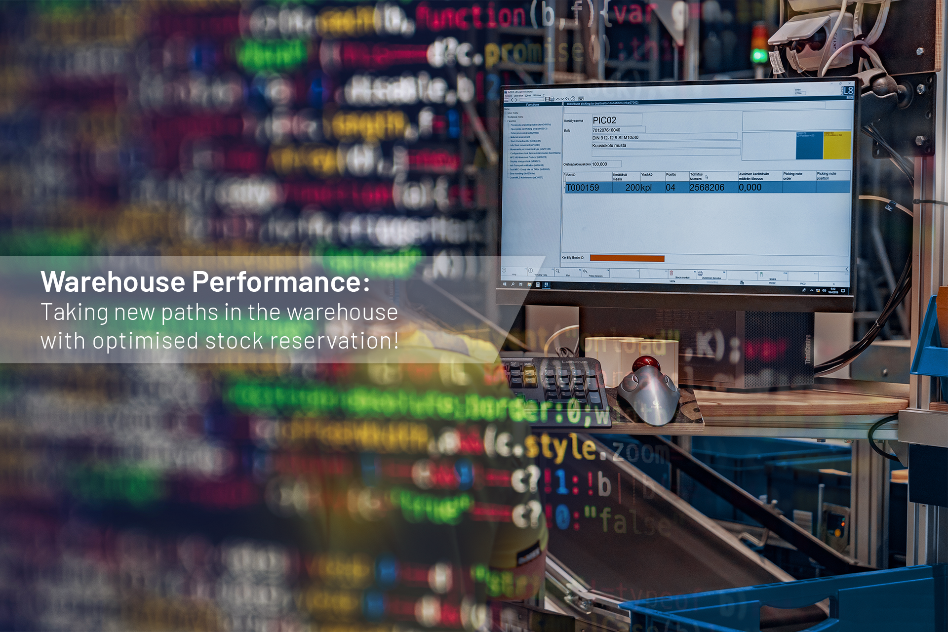 Warehouse Performance: breaking new ground in the warehouse with an optimised stock reservation! (Part 2/4)